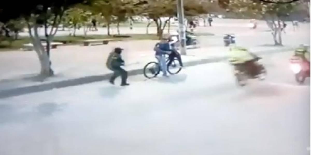 Revelan video inédito de abuso policial en protestas del 10 de septiembre