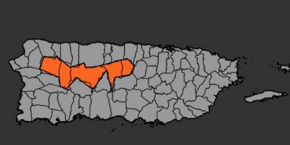 Emiten advertencia de inundaciones para municipios en el centro de la isla