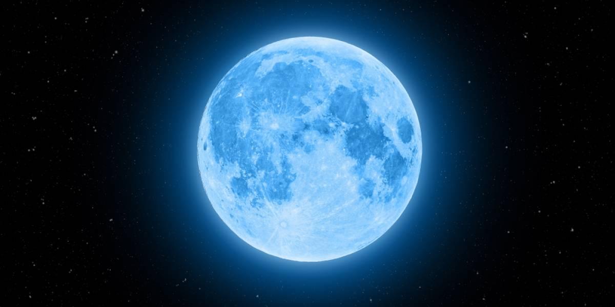 Bella 'luna azul' aparecerá en noche de Halloween