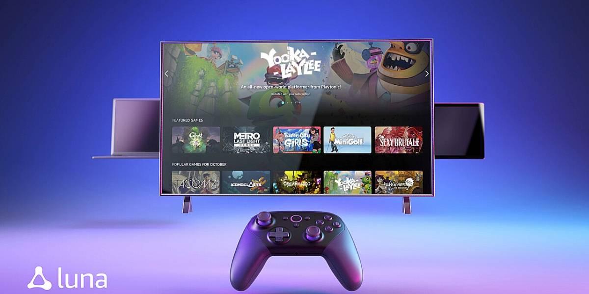 Amazon Luna: conoce su nuevo servicio de streaming de videojuegos