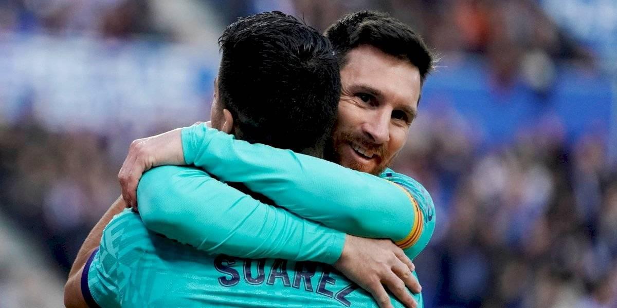 """Messi despide a Luis Suárez con duro mensaje a la directiva del Barcelona: """"No mereces que te echen como lo hicieron"""""""