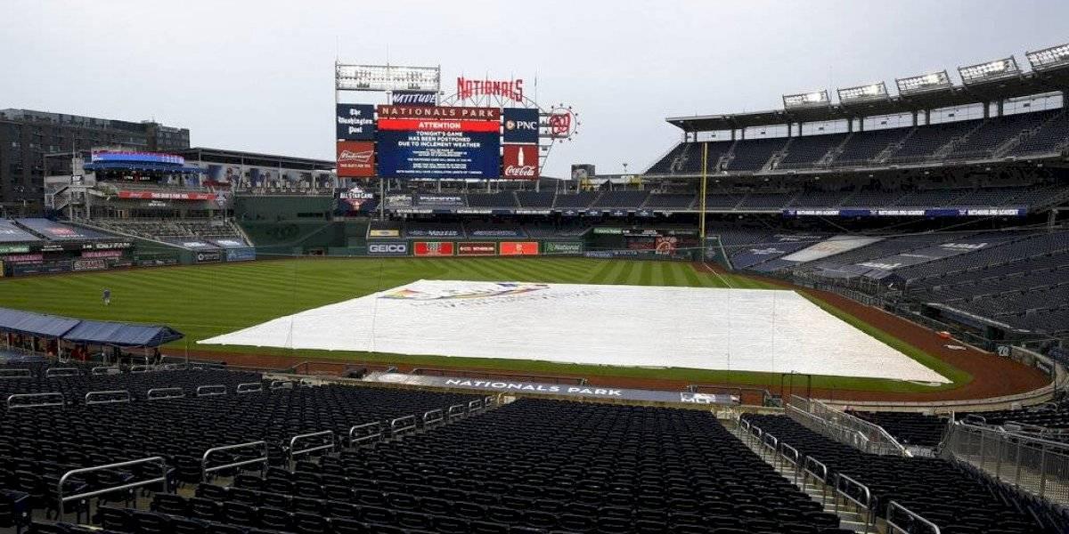 Pospuesto por mal tiempo encuentro entre Mets y Nacionales