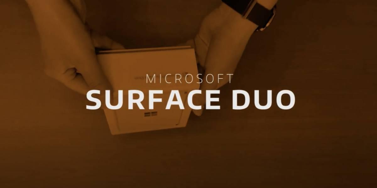 Ve nuestro unboxing de la increíble Microsoft Surface Duo