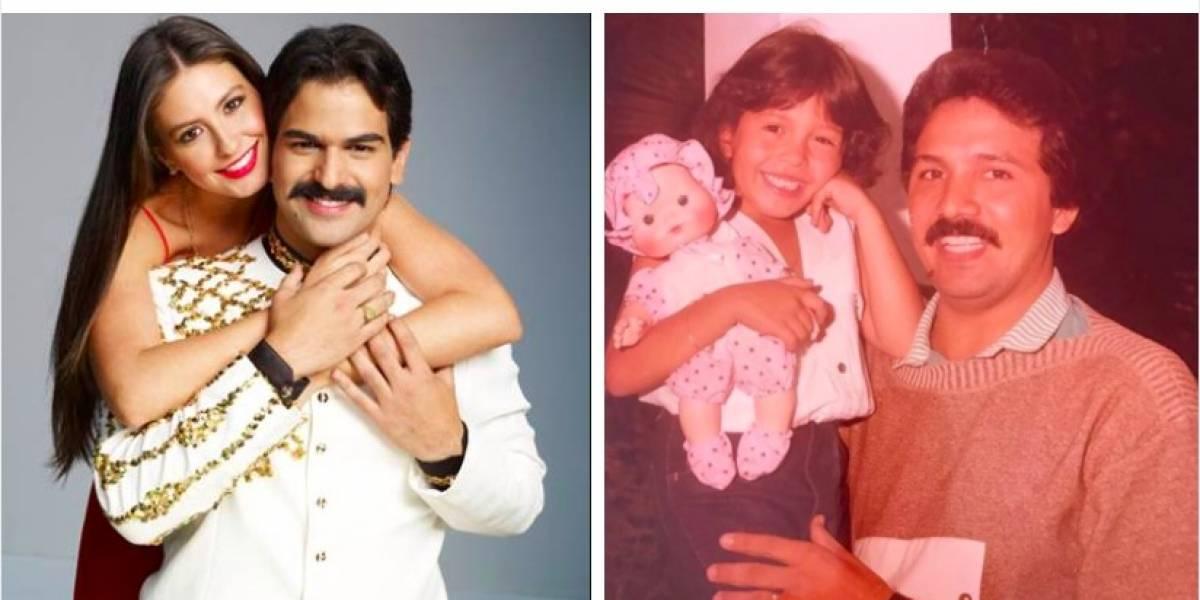 Ella es Kelly, la hija mayor de Rafael Orozco que lo vio morir en su cumpleaños