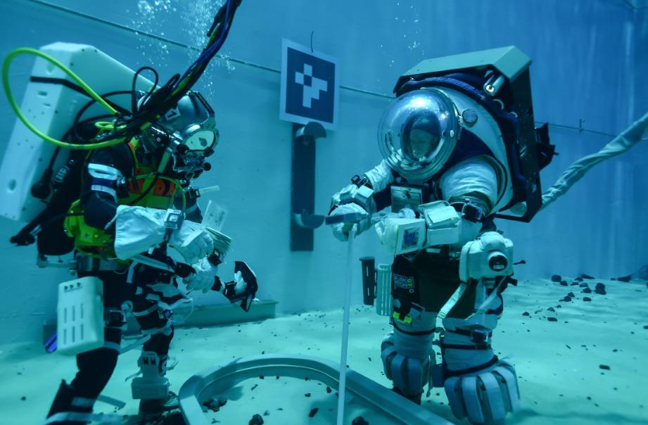 La NASA realiza entrenamientos para la misión Artemisa.
