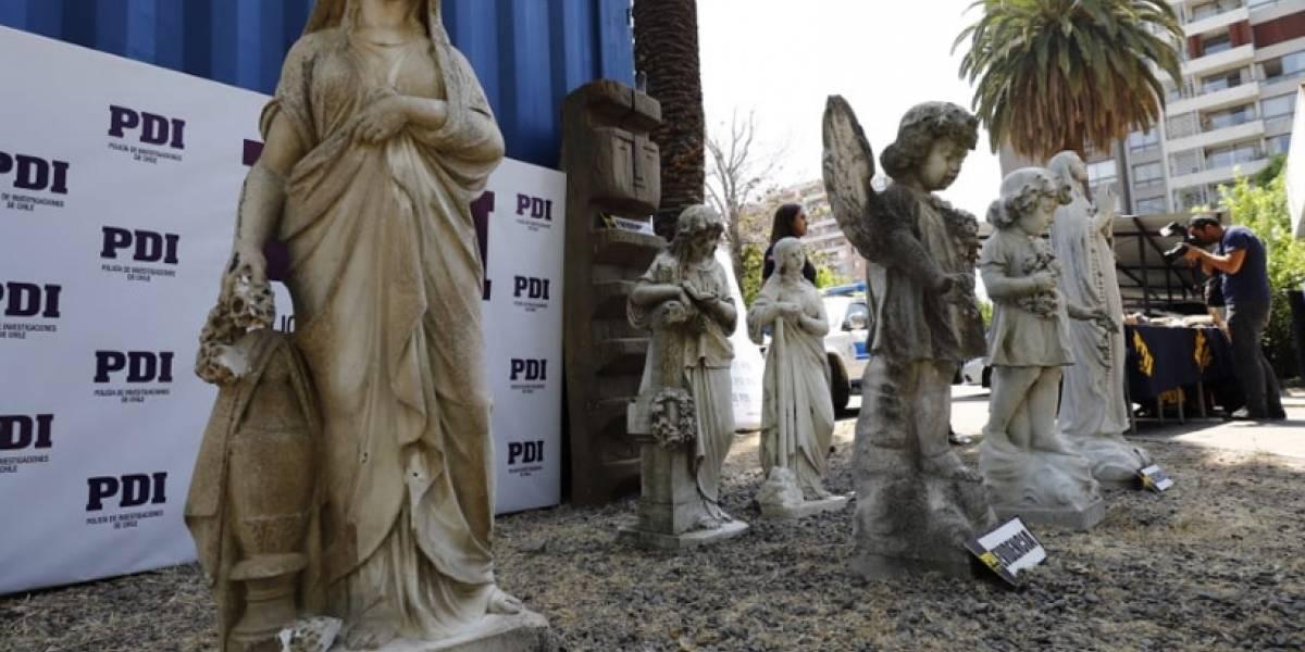 Casi $500 millones: demandan al empresario que coleccionaba esculturas y estatuas públicas ajenas que son monumentos nacionales