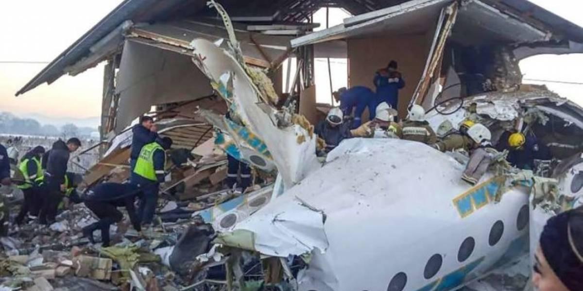 Tragedia aérea: más de 25 muertos al estrellarse un avión de la fuerza aérea de Ucrania