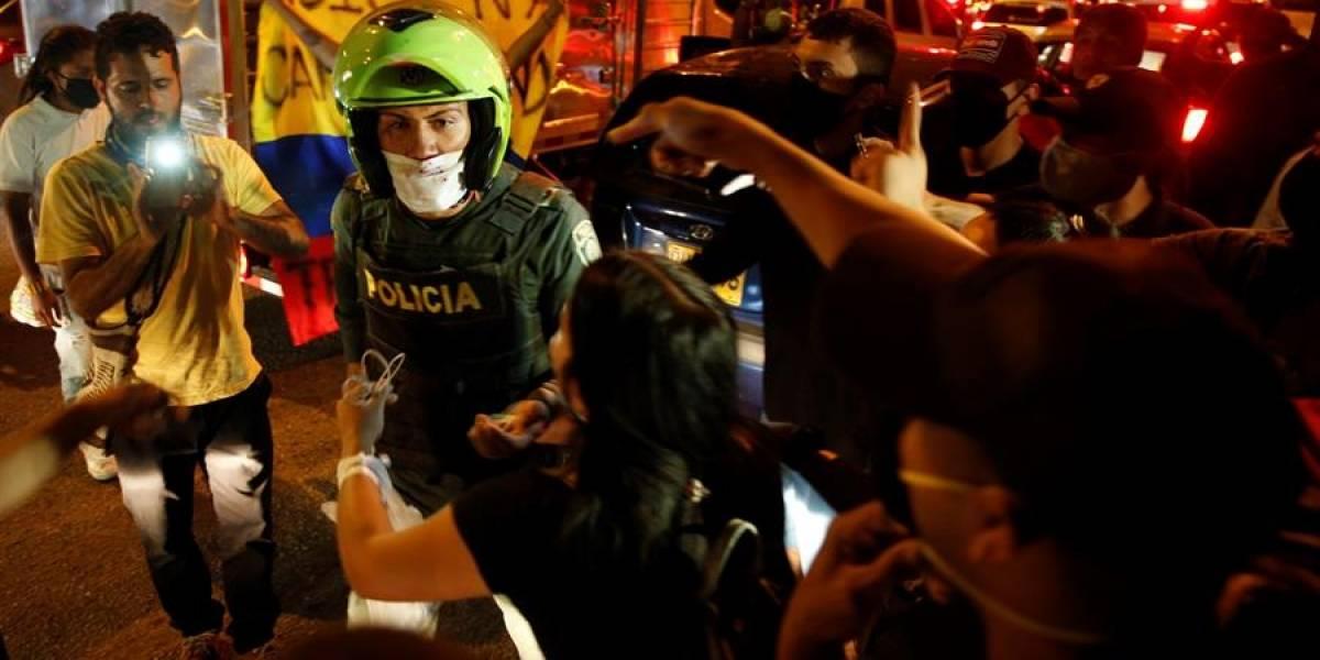 Policía explicó por qué hubo disparos en manifestación por muerte de Juliana Giraldo