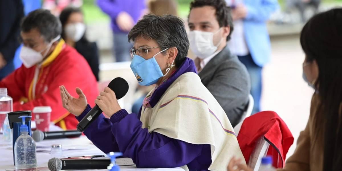 Claudia López dice que incremento de casos de COVID-19 en Bogotá se debe a las marchas