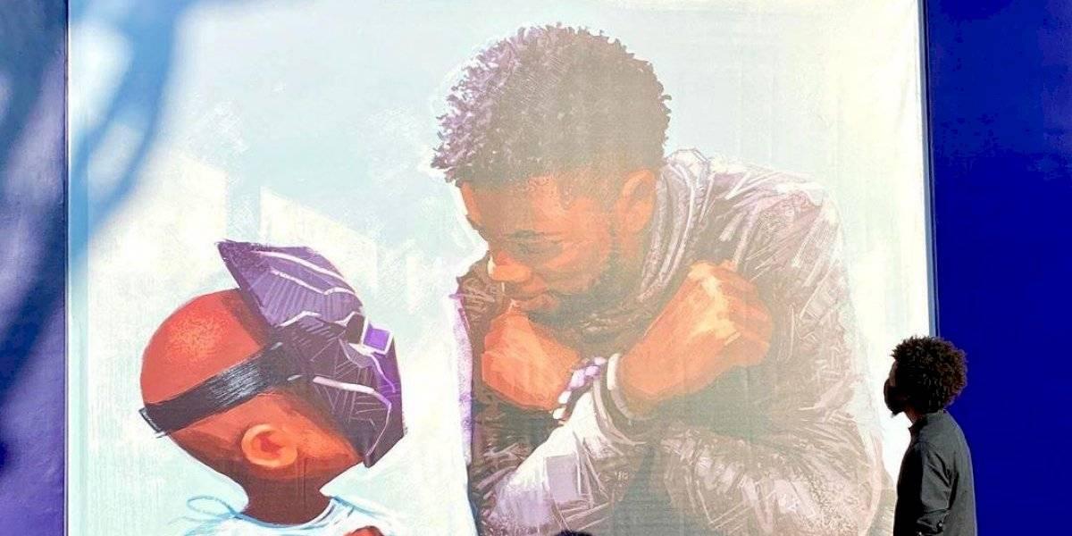 Disneyland inauguró el emotivo mural en honor a Chadwick Boseman (Pantera Negra)