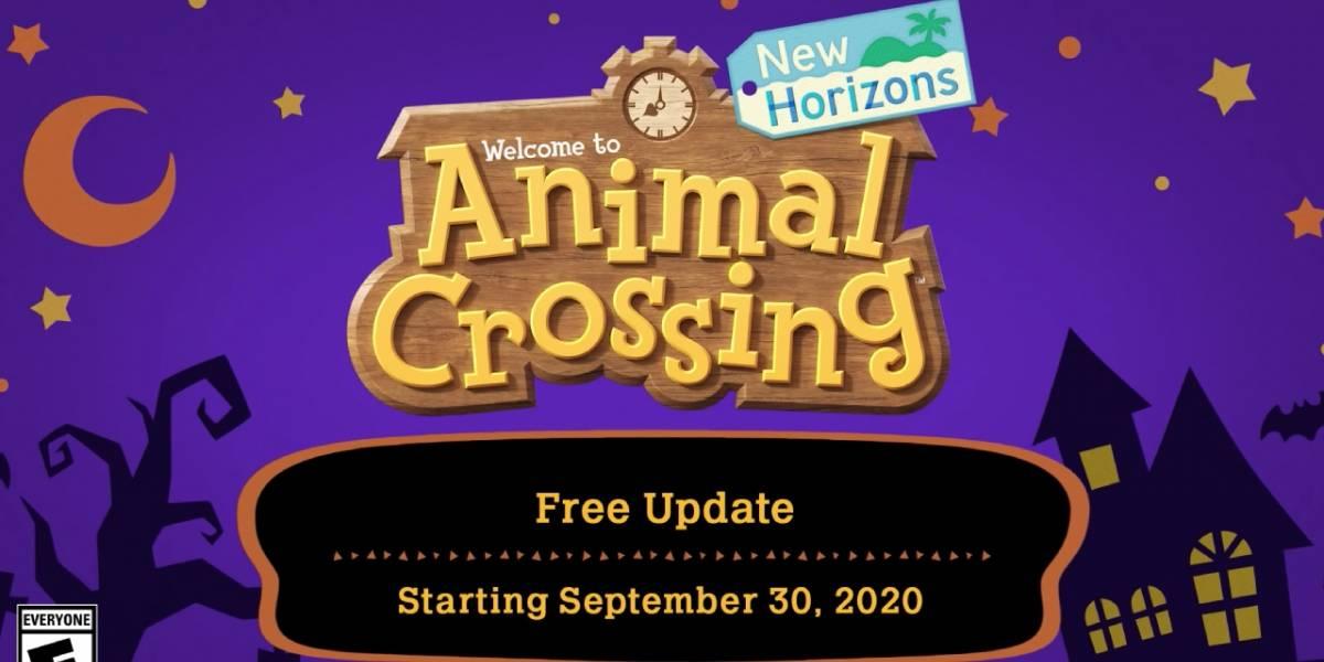 Animal Crossing: New Horizons anuncia la actualización de Halloween con muchas novedades muy divertidas