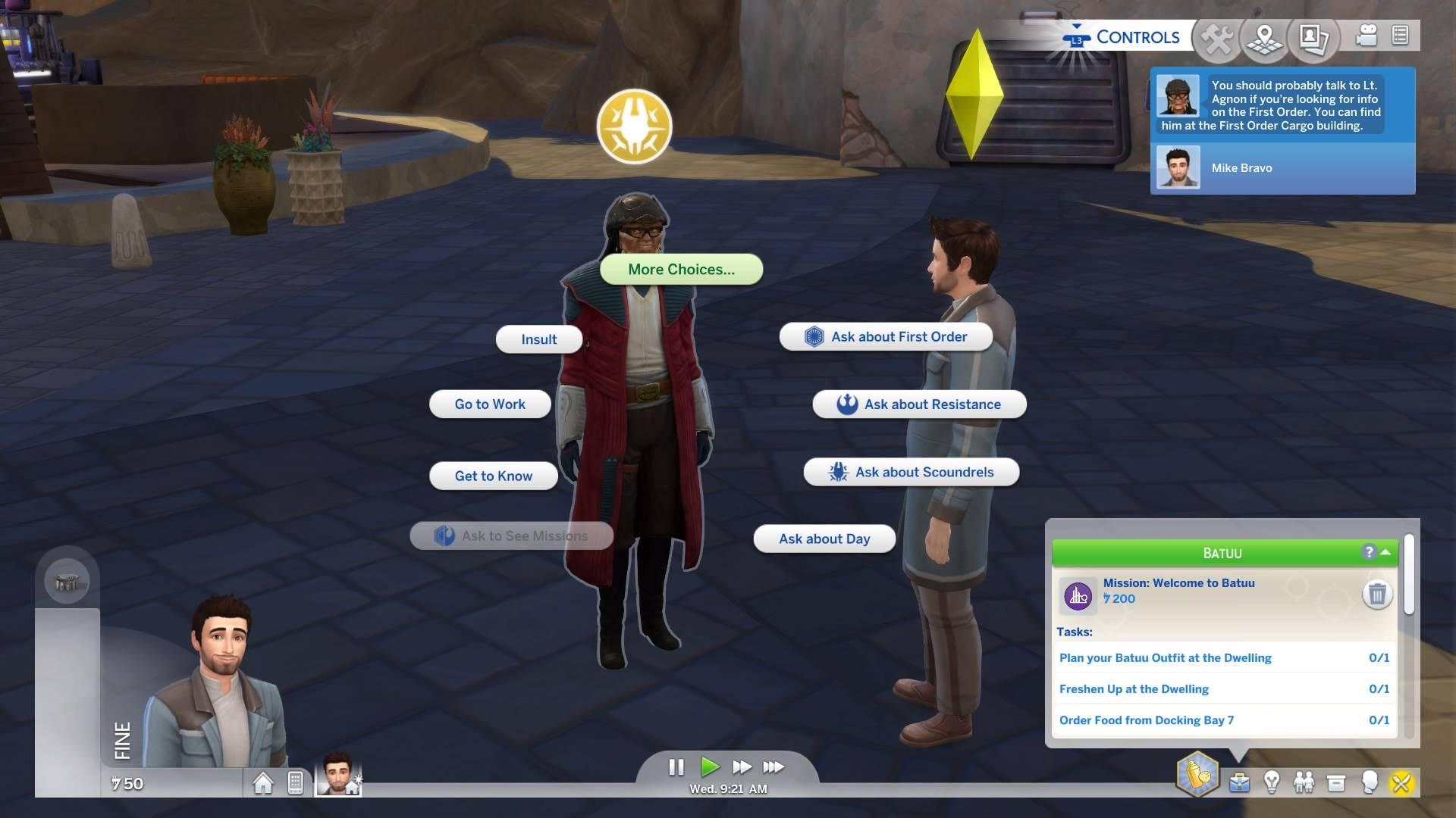 Los Sims 4 Star Wars DLC review