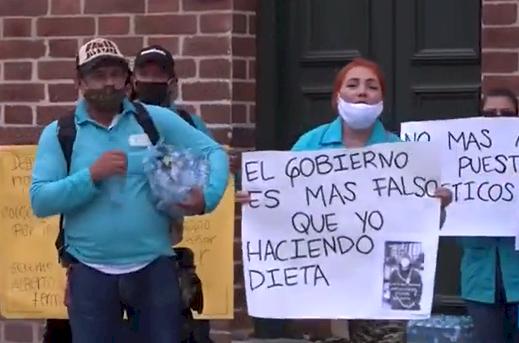 300 trabajadores de aseo de la Alcaldía de Medellín fueron despedidos a poco tiempo de jubilarse