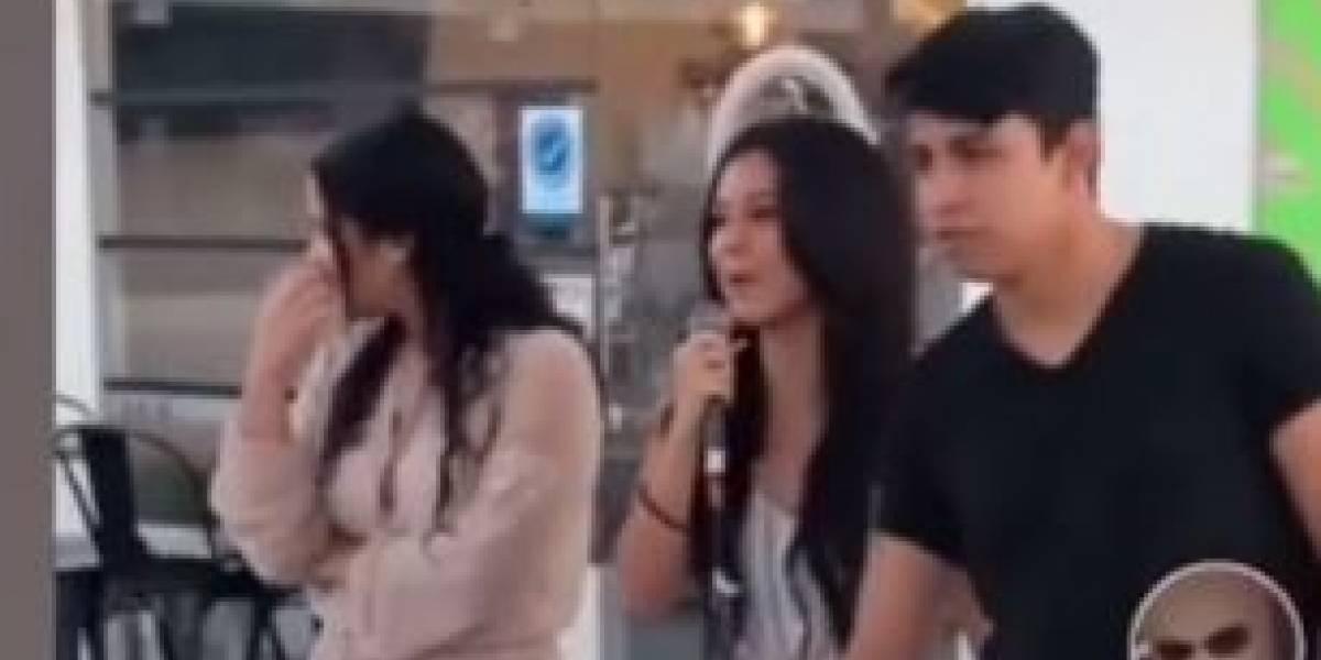 (VIDEO) Joven hace gran fiesta para exponer la infidelidad de su pareja con su mejor amiga