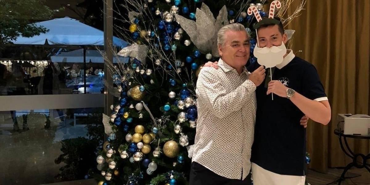 ¡Era hackeo! Hernán Calderón da explicaciones por foto con su hijo Nano en su Instagram