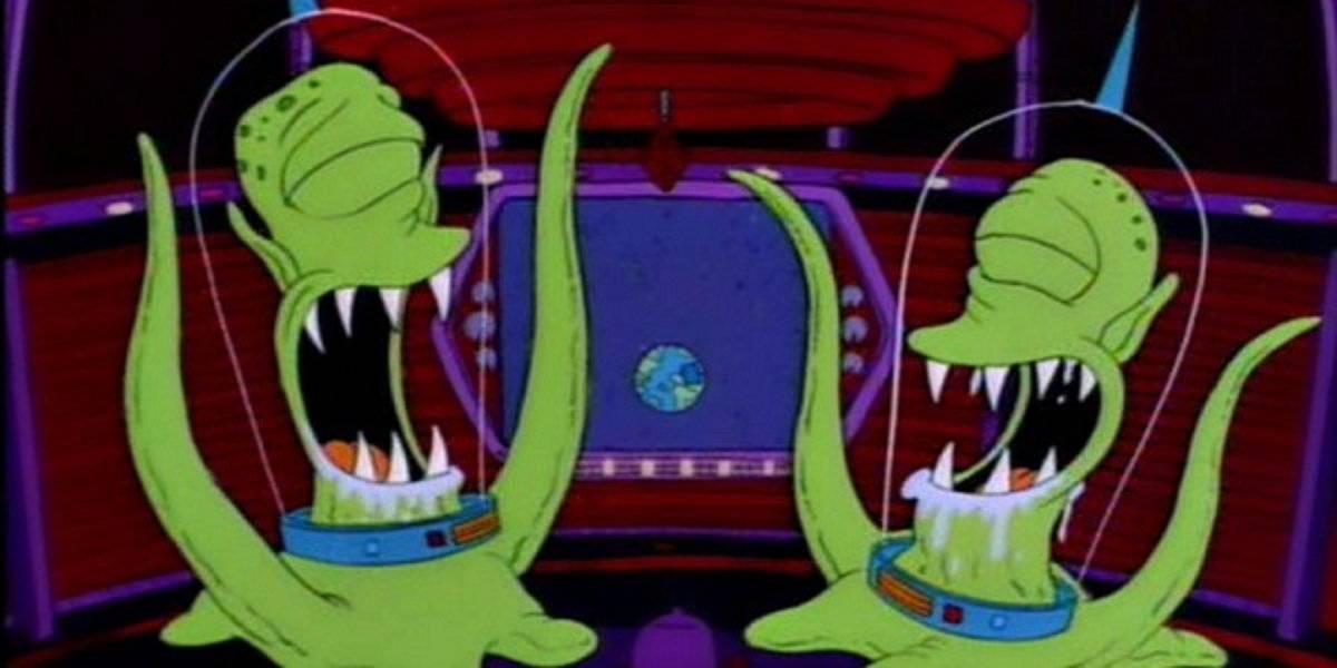Los Simpson Kang y Kodos