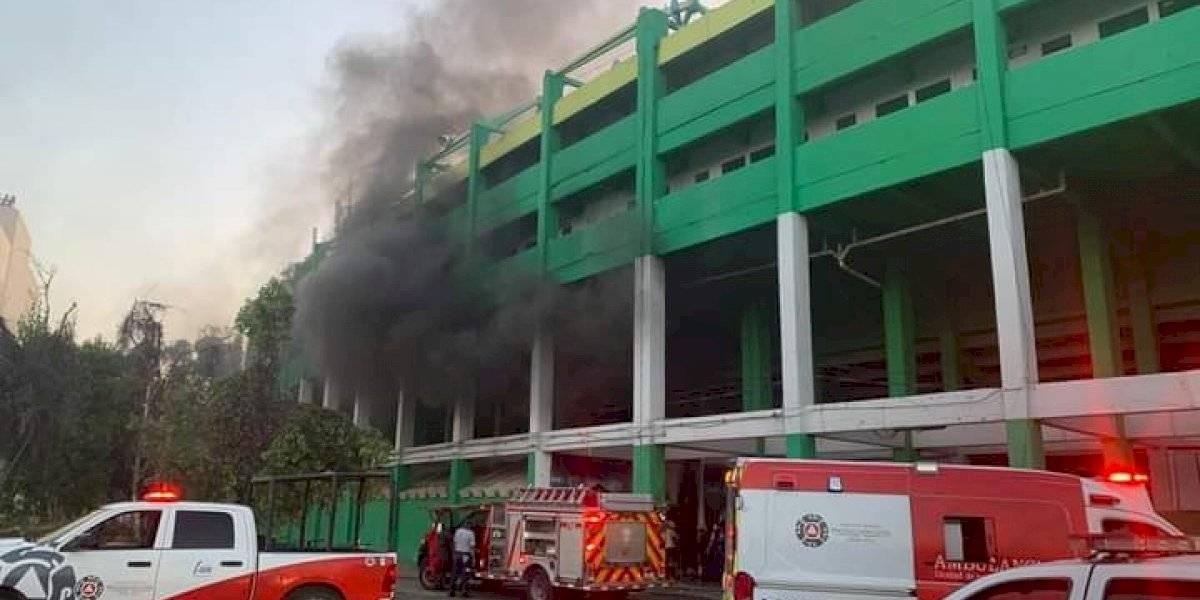 Reportan incendio provocado en Nou Camp — León