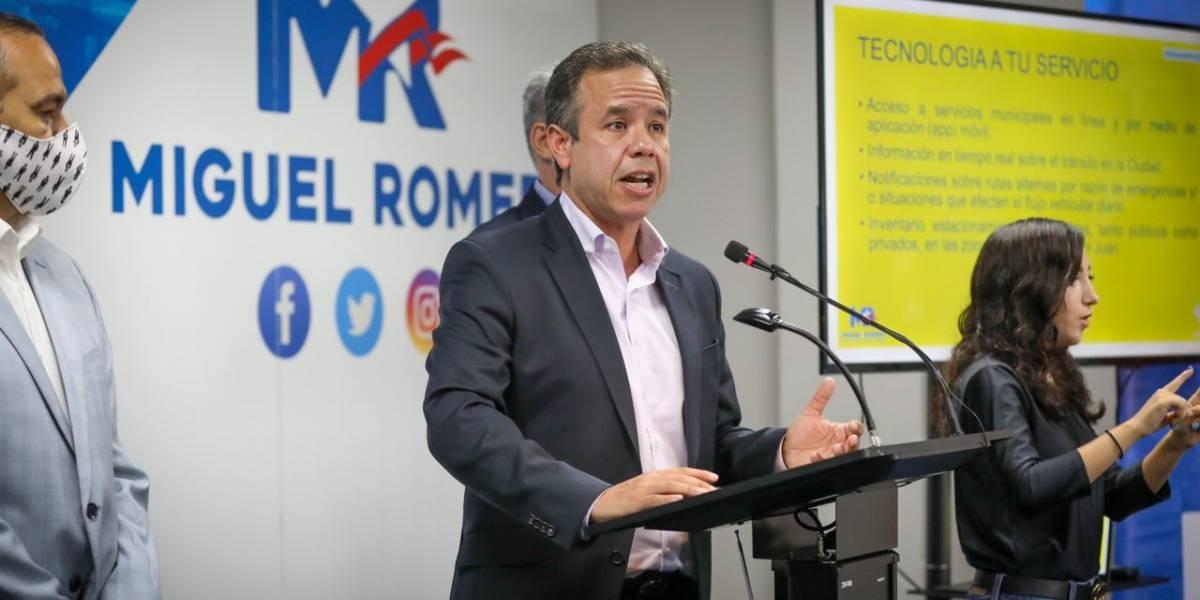 Primeros resultados dan ventaja a Miguel Romero en San Juan