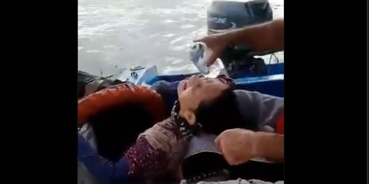 Esta es la historia de la bogotana que fue encontrada flotando en el mar