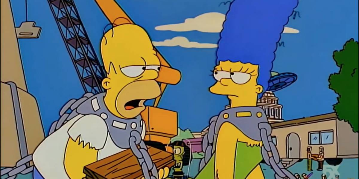 Los Simpson: esta pareja canónicamente pertenece a la comunidad LGBT y no lo sabías