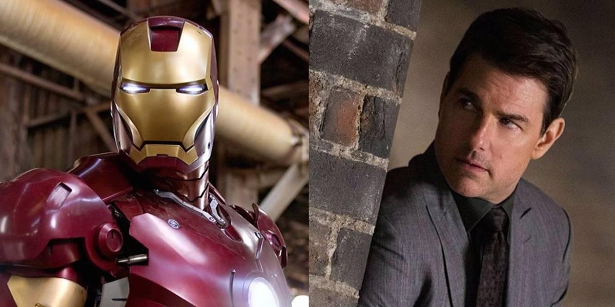 Cómo luce Tom Cruise como el nuevo Iron Man de Marvel
