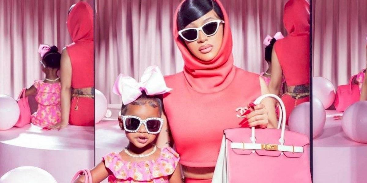 Cuestionan a Cardi B por 'obligar' a su hija a ser influencer