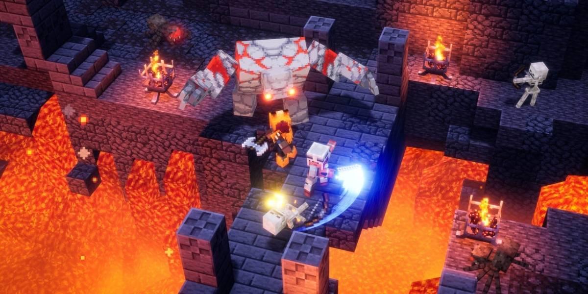"""""""Minecraft Dungeons"""": te guste o no esta saga, es un juego entretenido"""
