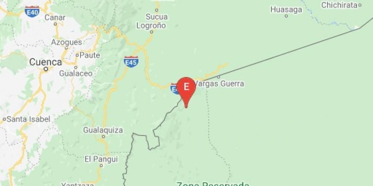 Sismo de 4.45 se registró en Gualaquiza, Morona Santiago