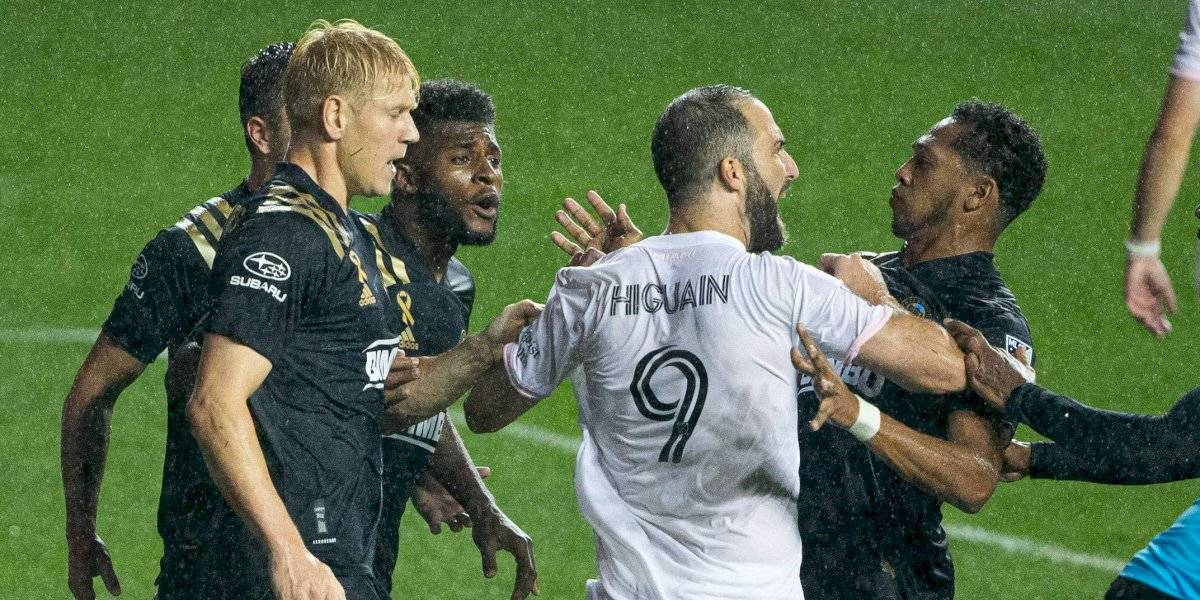 Gonzalo Higuaín y su debut de pesadilla en Inter Miami: falló un penal, los jugadores rivales se burlaron de él y su equipo perdió