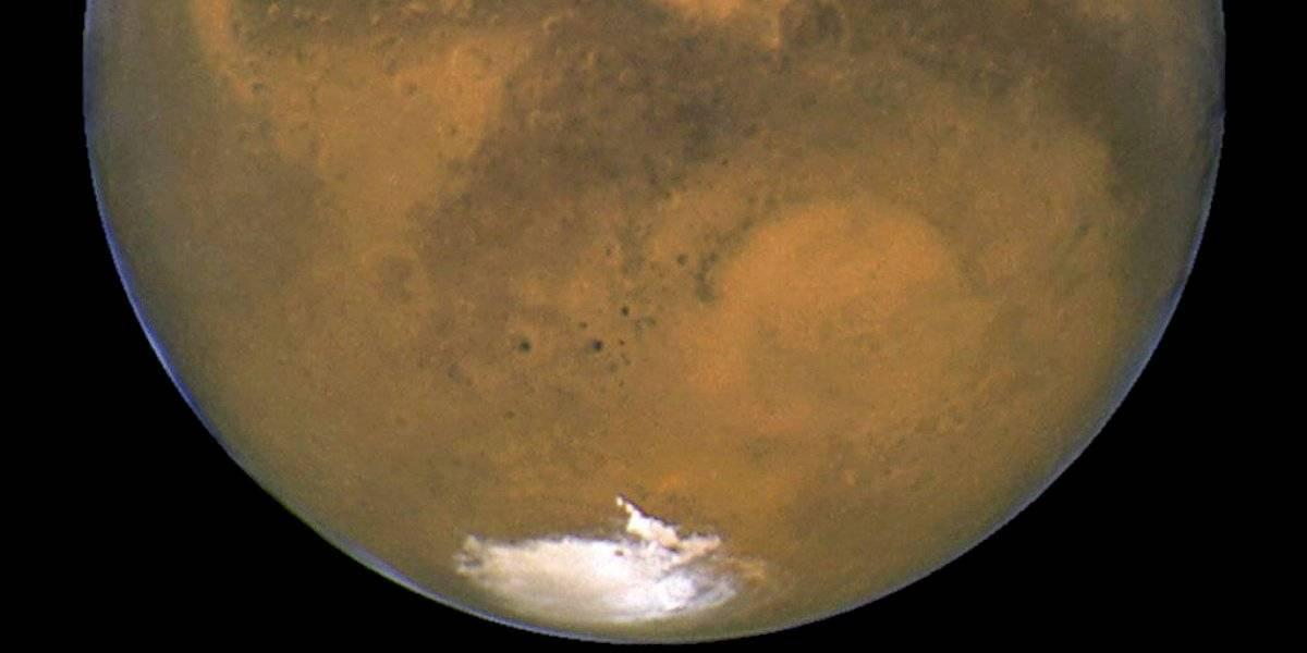 ¿Y si nos vamos para allá?: polo sur de Marte podría tener lago salado y estanques