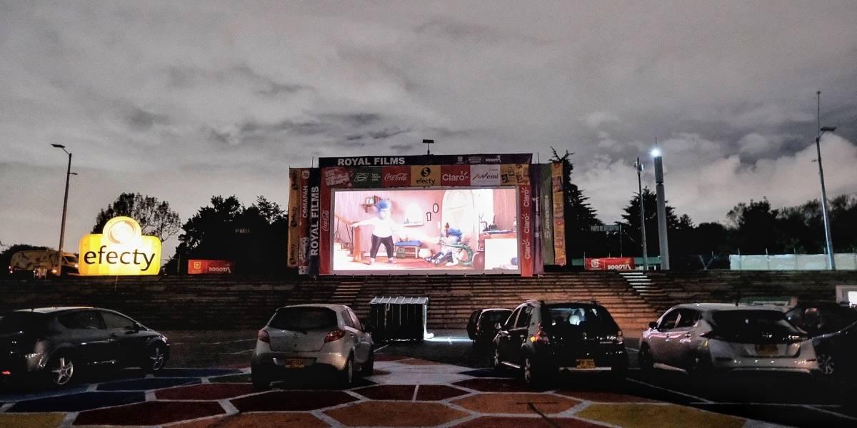 Autocine gratuito en Bogotá: películas, inscripción y horarios