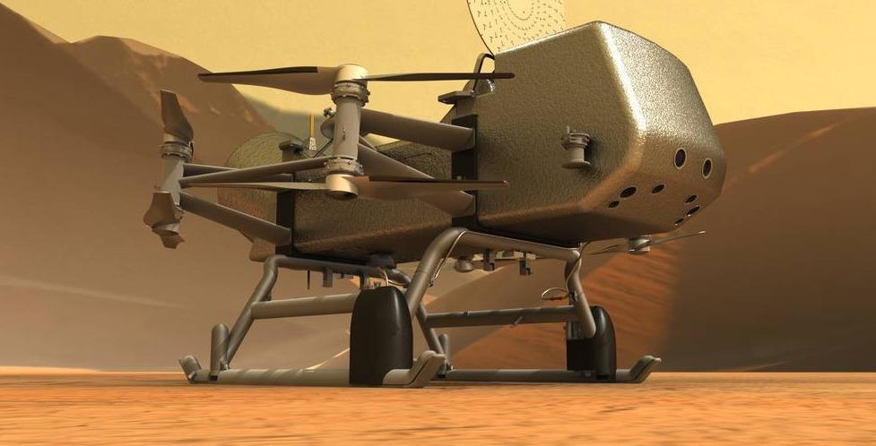 Dragonfly, la misión de la NASA a Titán.