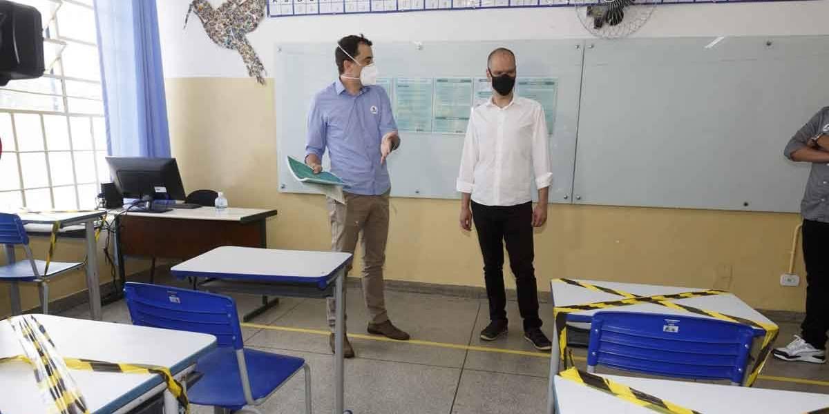 SP decide semana que vem se libera as aulas regulares