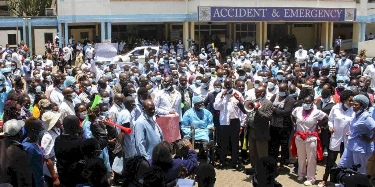 Muere paciente en medio de huelga de personal médico en Kenia