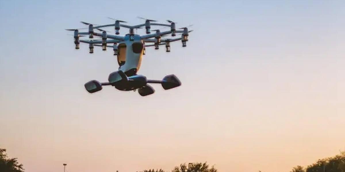 Hexa: la nave personal que vuela como un dron y cuesta medio millón de dólares