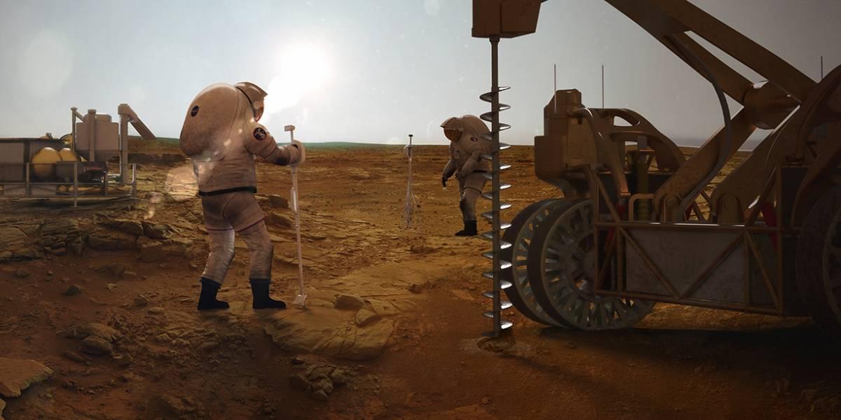 Ciencia: físico afirma que el combustible para cohetes, a base de metano, se puede fabricar en Marte siguiendo un solo paso