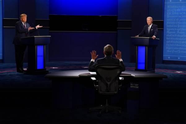 """Se dieron con todo: Biden le dice """"payaso"""" a Trump en debate presidencial"""