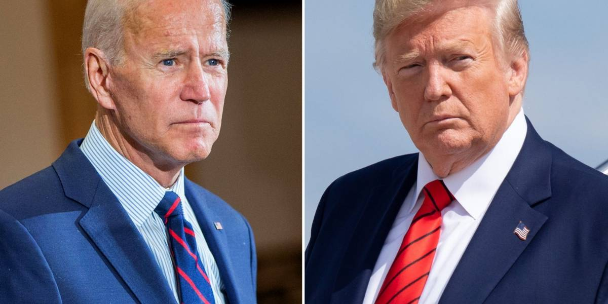 Cierre de campaña: Joe Biden, con Lady Gaga; Trump hace tour maratónico