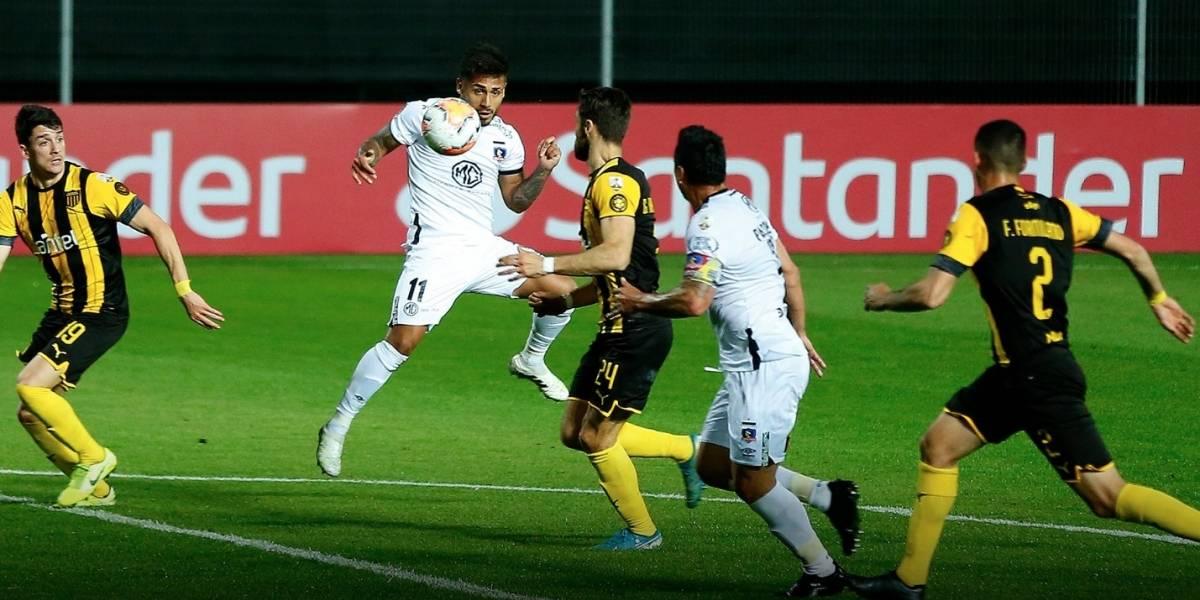 Colo Colo sigue sin ver la luz y se complica en la Libertadores: Peñarol lo golea 3-0