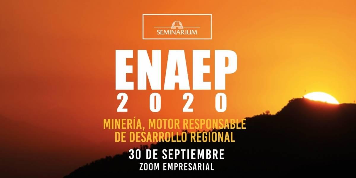 Autoridades y actores del sectorminero se unen para la Edición XV ENAEP