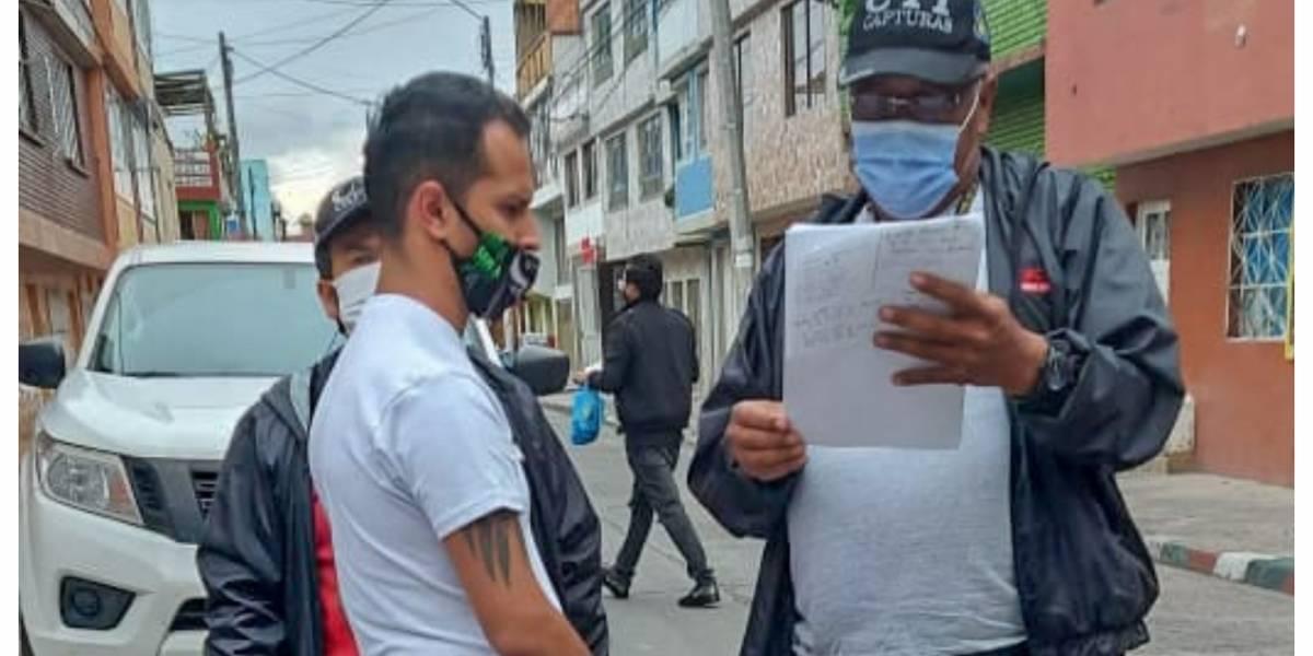 Capturan en Bogotá a hombre que abusó de niña que contactó por internet