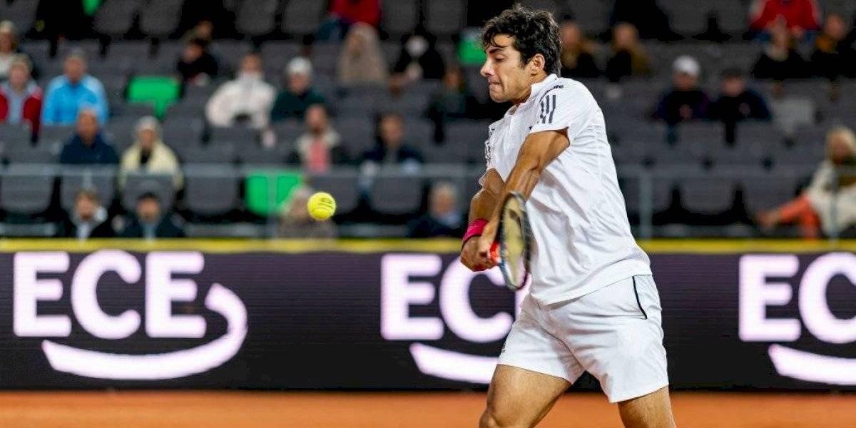 Cristian Garin vence en cuatro sets a Kohlschreiber y avanza a segunda ronda de Roland Garros