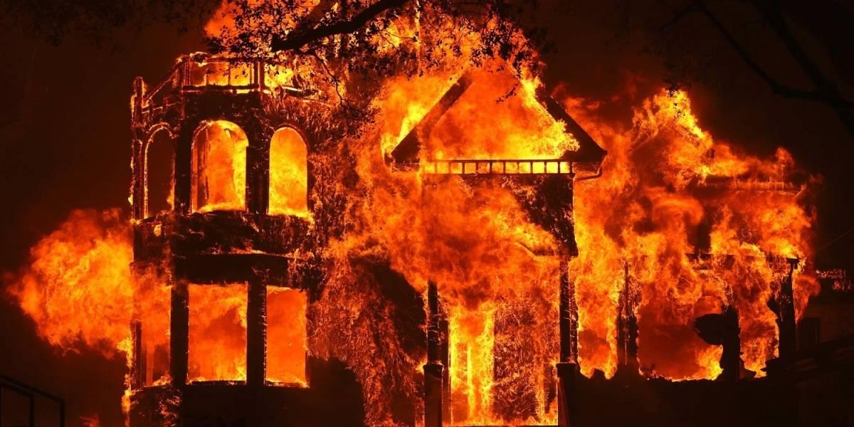 Incendios en Napa arrasan con todo a su paso y enciende los focos de alerta