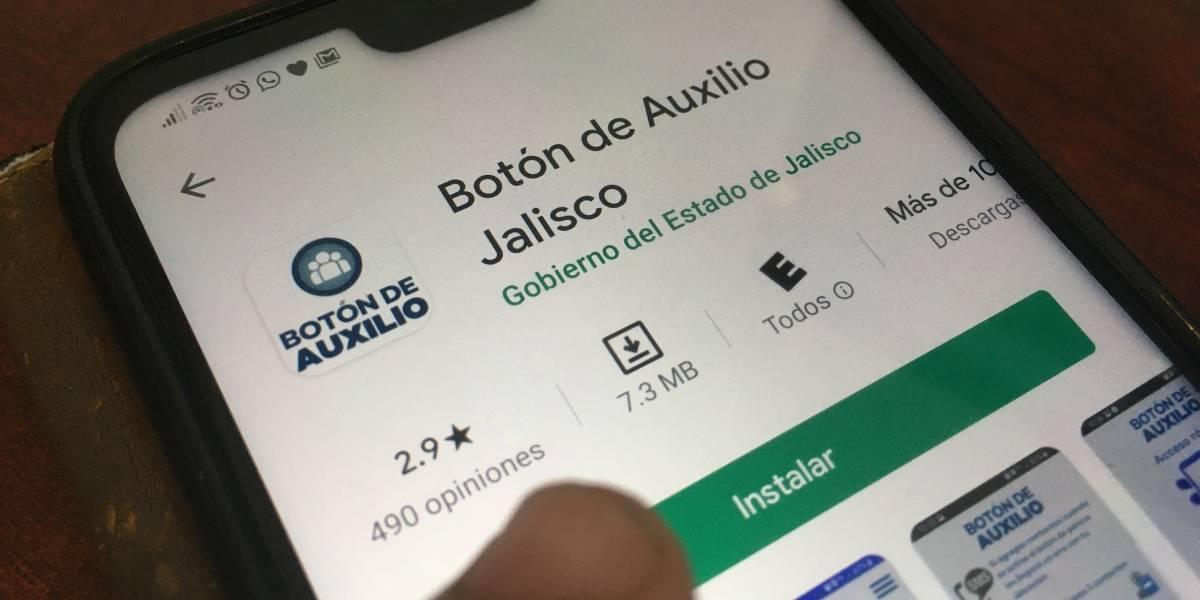 Lanzan app con botón de auxilio para atender emergencias en Jalisco