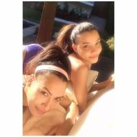 Captan al exesposo de Naya Rivera de la mano con la hermana de la actriz de Glee