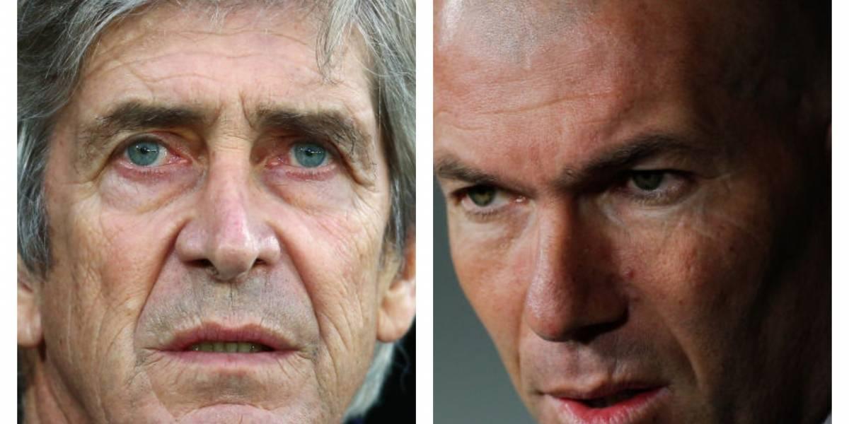 """Zidane le tiró un palo a Pellegrini: """"Me sorprende que critique los aciertos"""""""