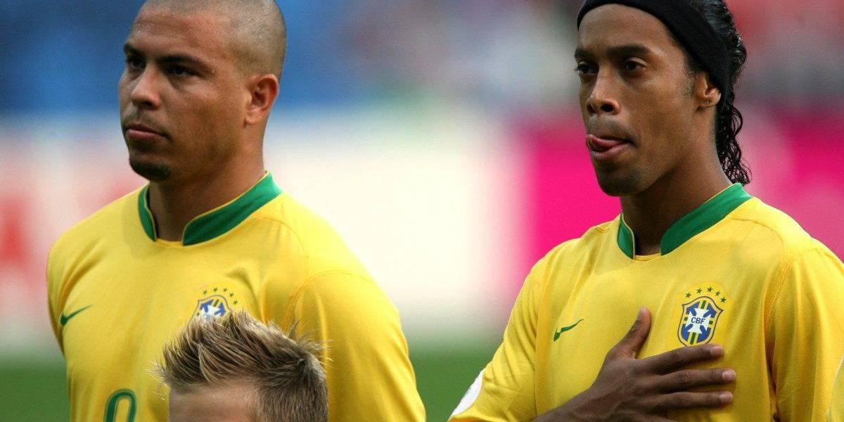 La historia de los 4 Ronaldos en la Selección de Brasil