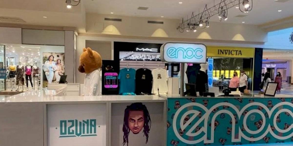 Ozuna estrena su tienda en Plaza Las Américas