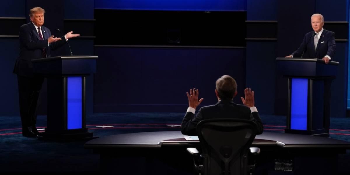 Modificarán debates en Estados Unidos tras caótico encuentro entre Trump y Biden