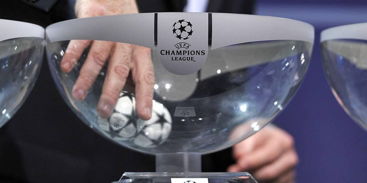 Sorteo Champions League UEFA Fase de Grupos: Bombos y cabezas de serie ((1 de octubre))